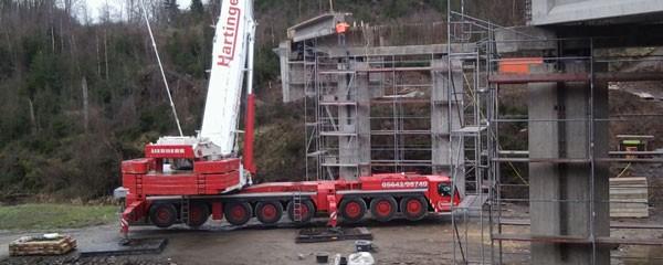 Gewerbepark Hüppcherhammer - Die Brücke
